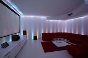 home cinema room lighting