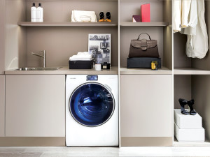 Samsung smart home connected washing machine