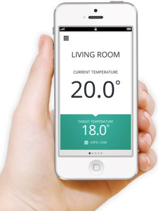smartphone wifi heating thermostat